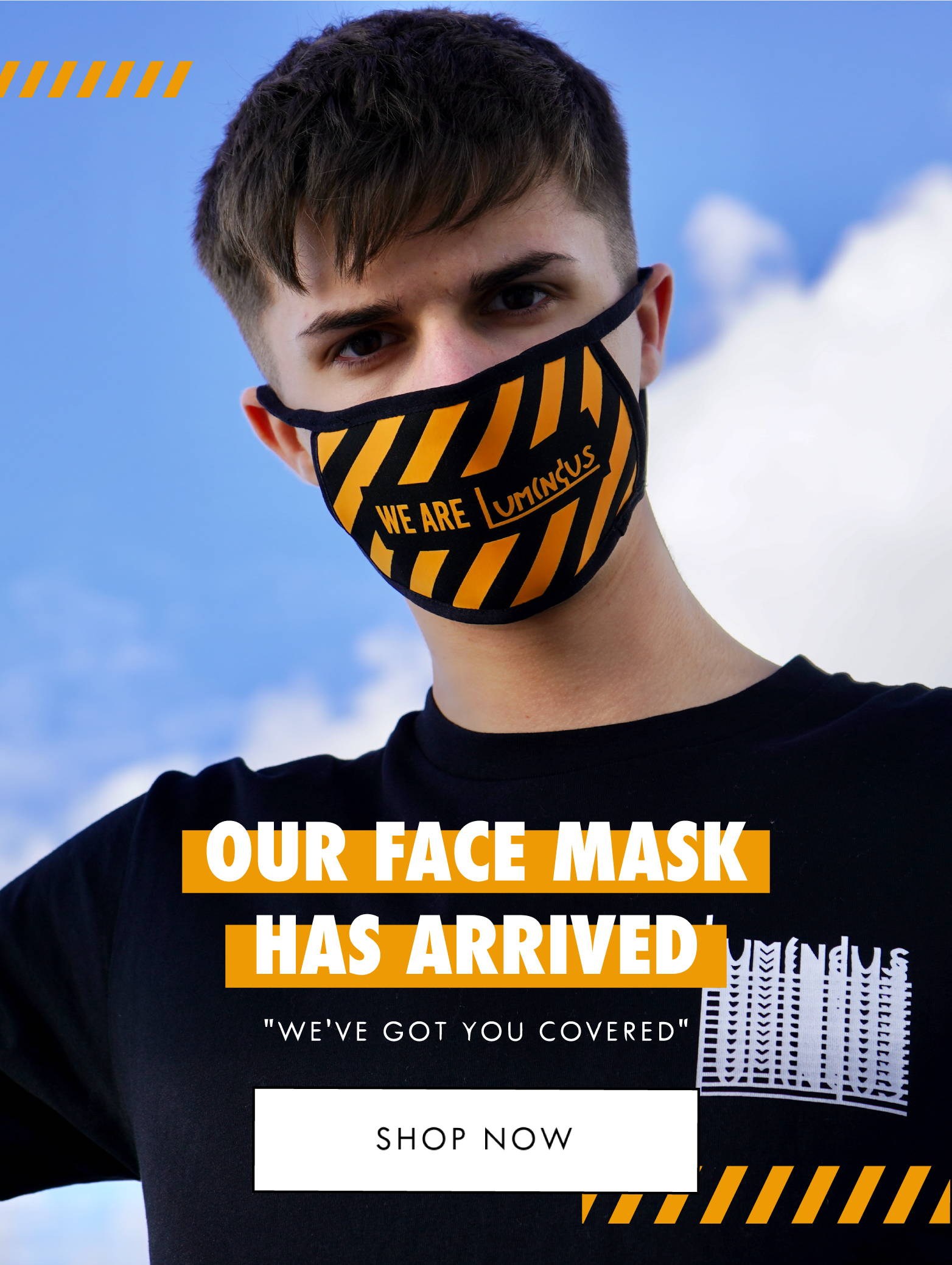 Our Face Mask Has Arrived - We've Got You Covered