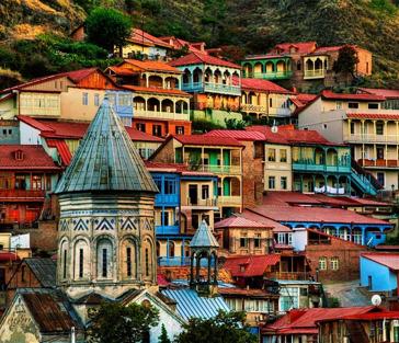 Пешеходная экскурсия по Тбилиси