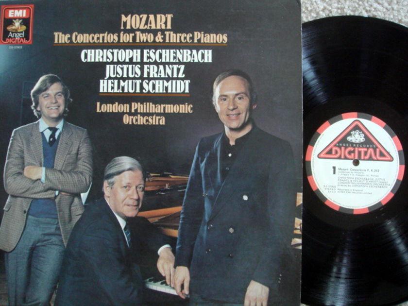 EMI Angel Digital / ESCHENBACH,  - Mozart Concertos 2 & 3 Pianos, NM-!