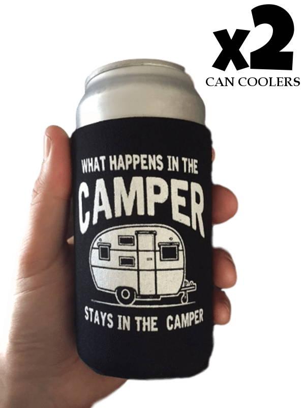 camping gifts, happy camper bracelet, gift for camper