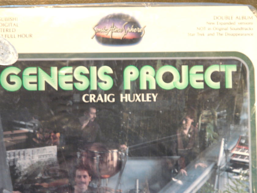 GENESIS  PROJECT CRAIG  HUXLEY;  - Sonic Atmo Spheres DOUBLE AUDIOPHILE ALBUM NEW SEALED