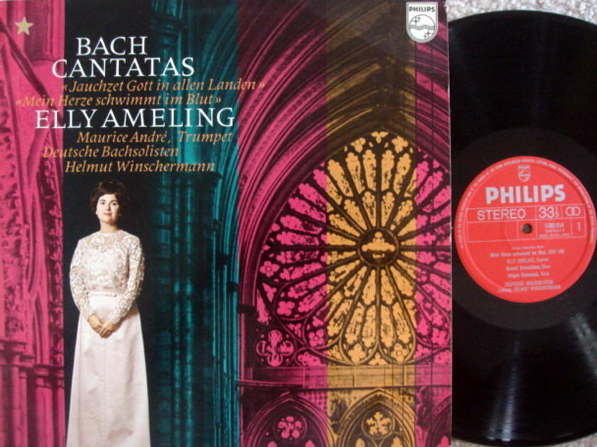 Philips / AMELING, - Bach Cantatas BWV.199 & 51, NM!
