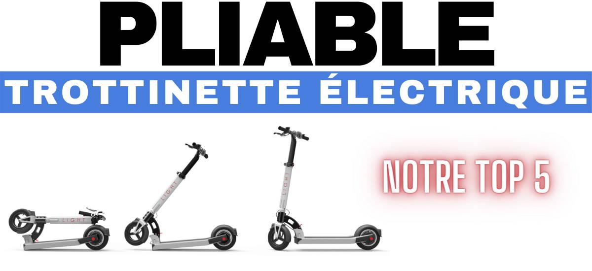 trottinettes-electriques-pliables