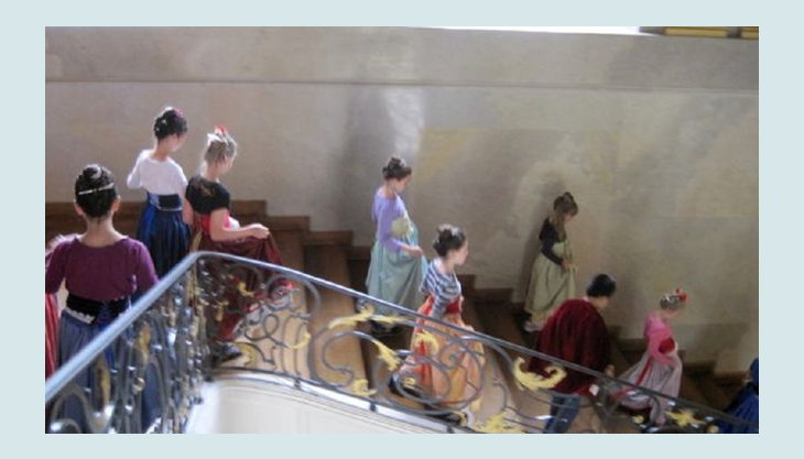 schloss charlottenburg die große treppe