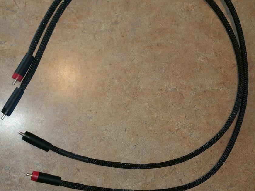 Morrow Audio MA6 Morrow Audio MA6 i/c cables with Eichmann Silver Bullet RCAs