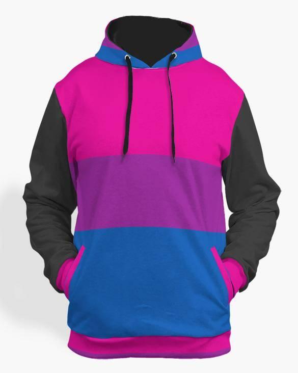 bisexual pride hoodie