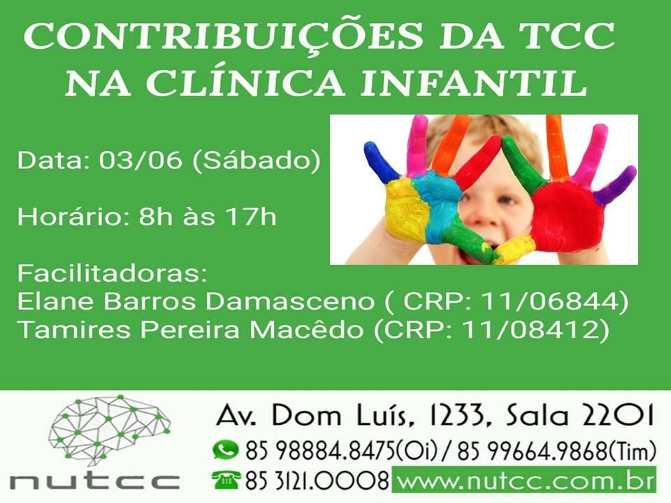 Contribuições da TCC na Clínica Infantil