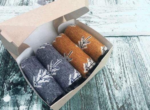 Подарочный набор носков елки финские