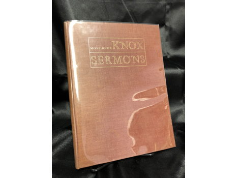 The Knox Sermons:  Ronald Knox and Evelyn Waugh Book