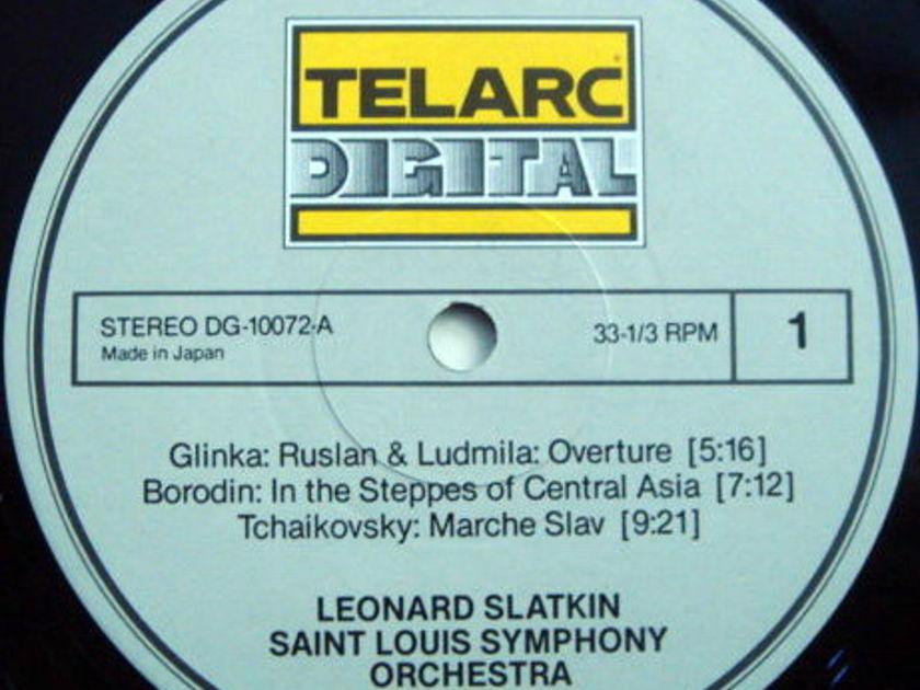 ★Audiophile★ Telarc / SLATKIN, - Tchaikovsky Marche Slav, MINT!