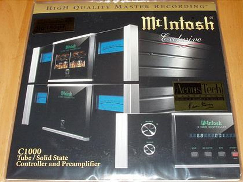 Mcintosh reference - Double LP, Hq 180gm by top music, new