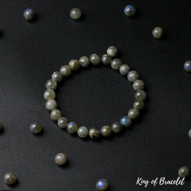 Bracelet en Perles de Labradorite - King of Bracelet