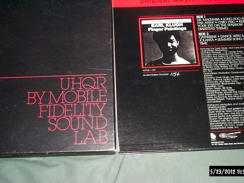 Earl klugh - Finger Paintings mfsl uhqr nm lp vinyl  audiophile