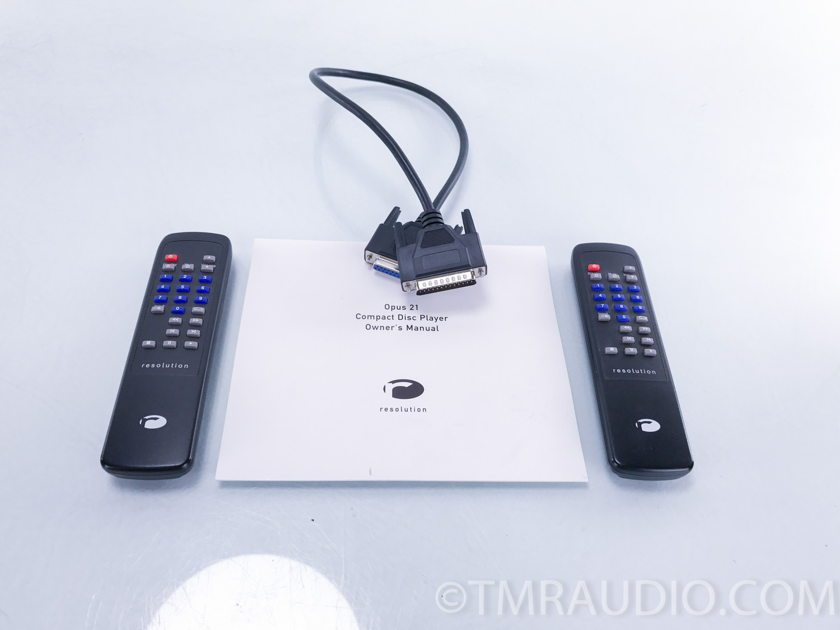 Resolution Audio Opus 21 CD Player (2903)