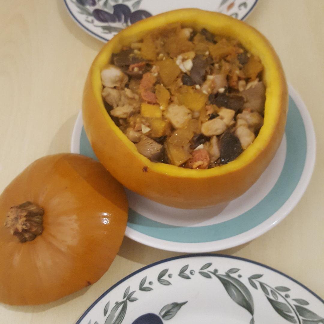 Lo Mai Kai Stuffed Pumpkin