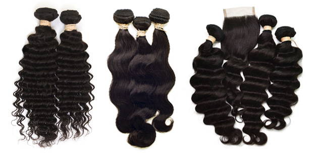 AVERA Virgin Hair Extensions Bundle Deals