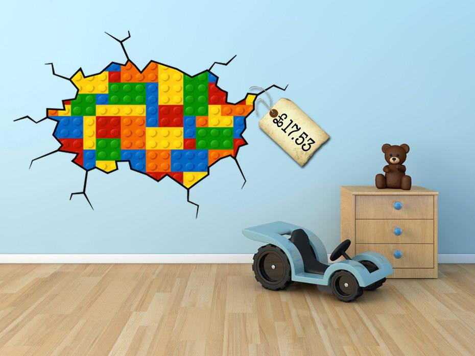 lego wall paint