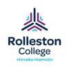 Rolleston College logo