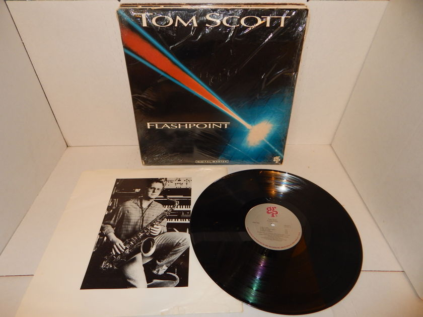 TOM SCOTT Flashpoint - Eric Gale GRP Digital Master  Shrink Excellent Condition LP
