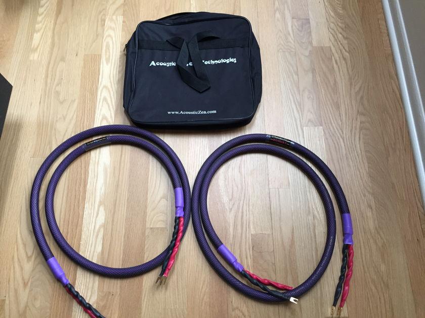 Acoustic Zen Hologram 2 Speaker Cables Hologram 2 Speaker Cables Hologram 2 Speaker Cables 8'