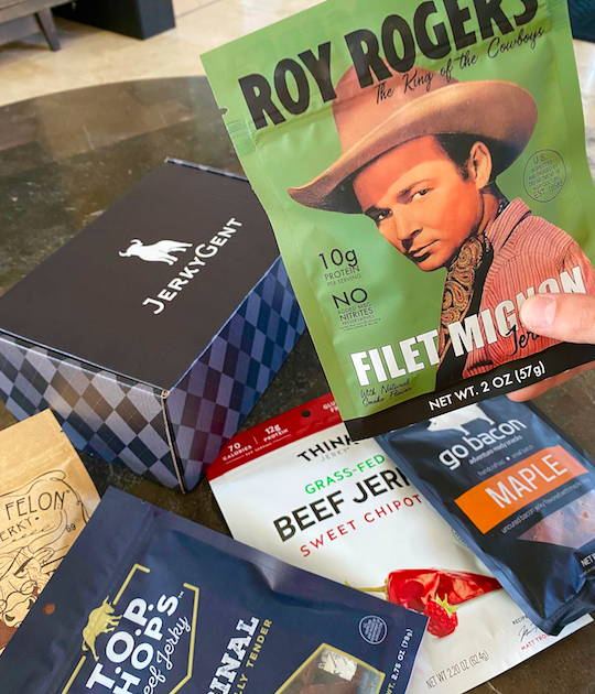 JerkyGent Father's Day Beef Jerky Gift Box