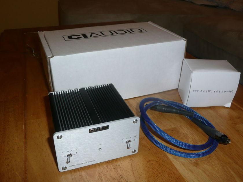 Channel Islands VDA-2 24bit/192 kHz DA converter