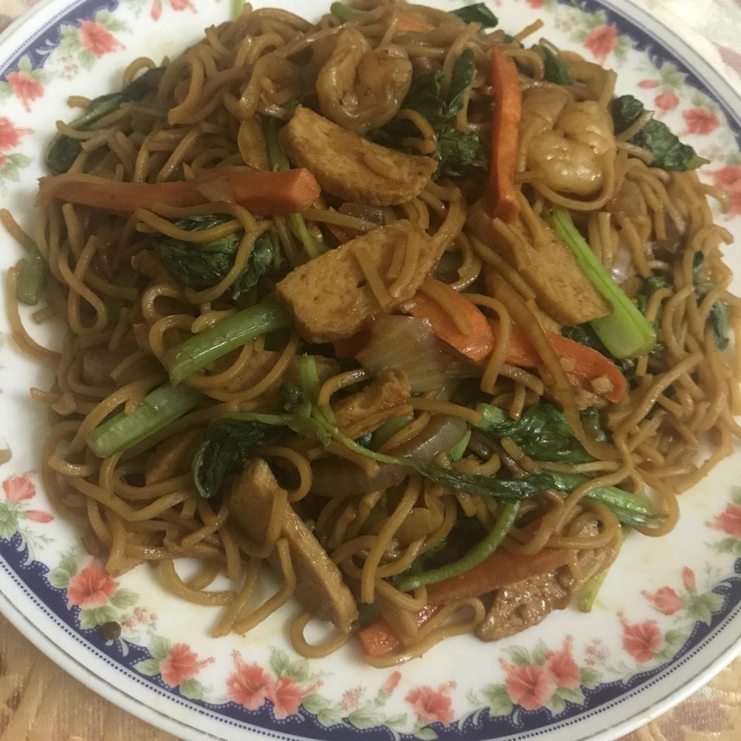 Stir fry Yee Mee ❤️🤗