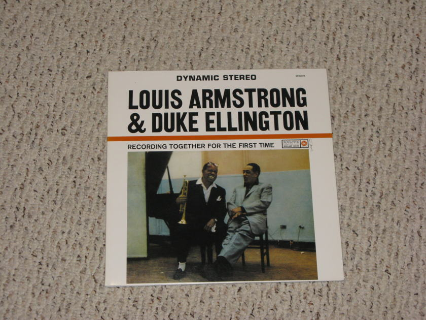 Duke Ellington/Louis Armstrong - Recording Together for the First Time Classic Records Reissue