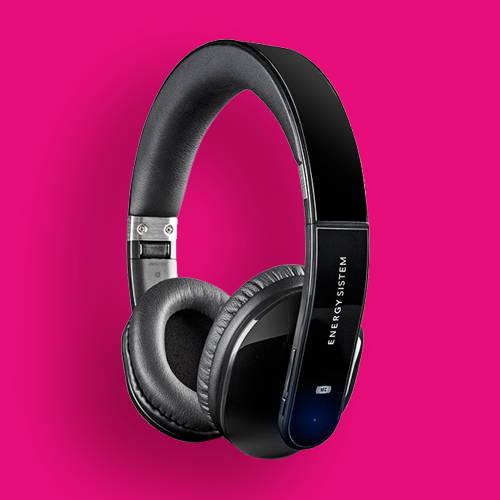 ENERGY SISTEM Audífonos Inalámbricos con Diadema Bluetooth BT5+