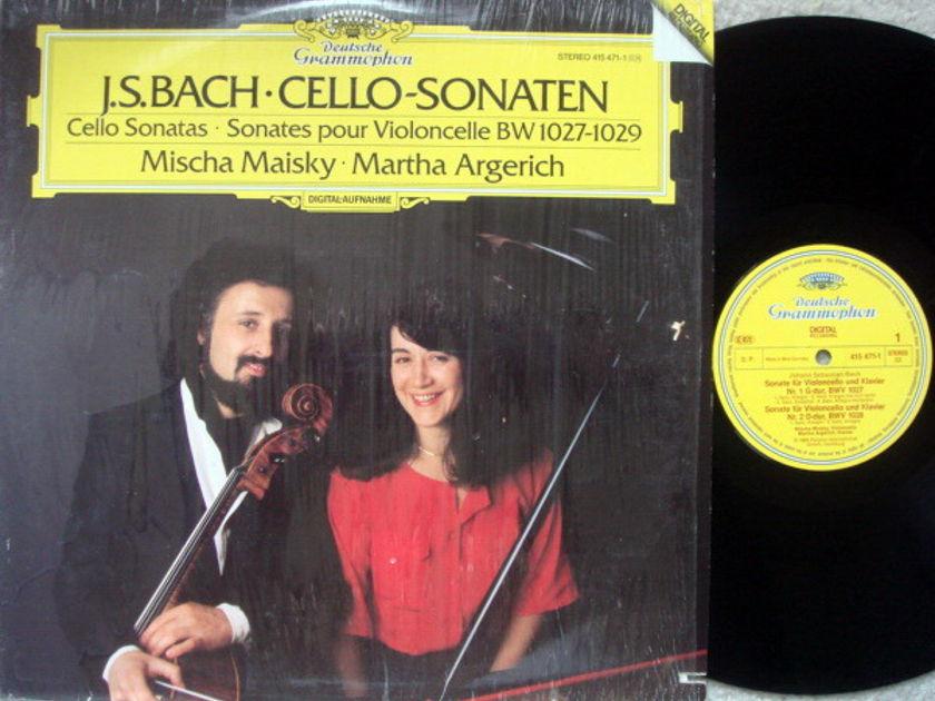 DG Digital / MISCHA MAISKY-ARGERICH, - Bach Cello Sonatas, NM!