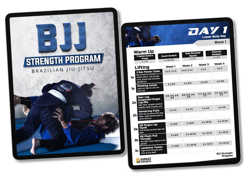 Wrestling strength program