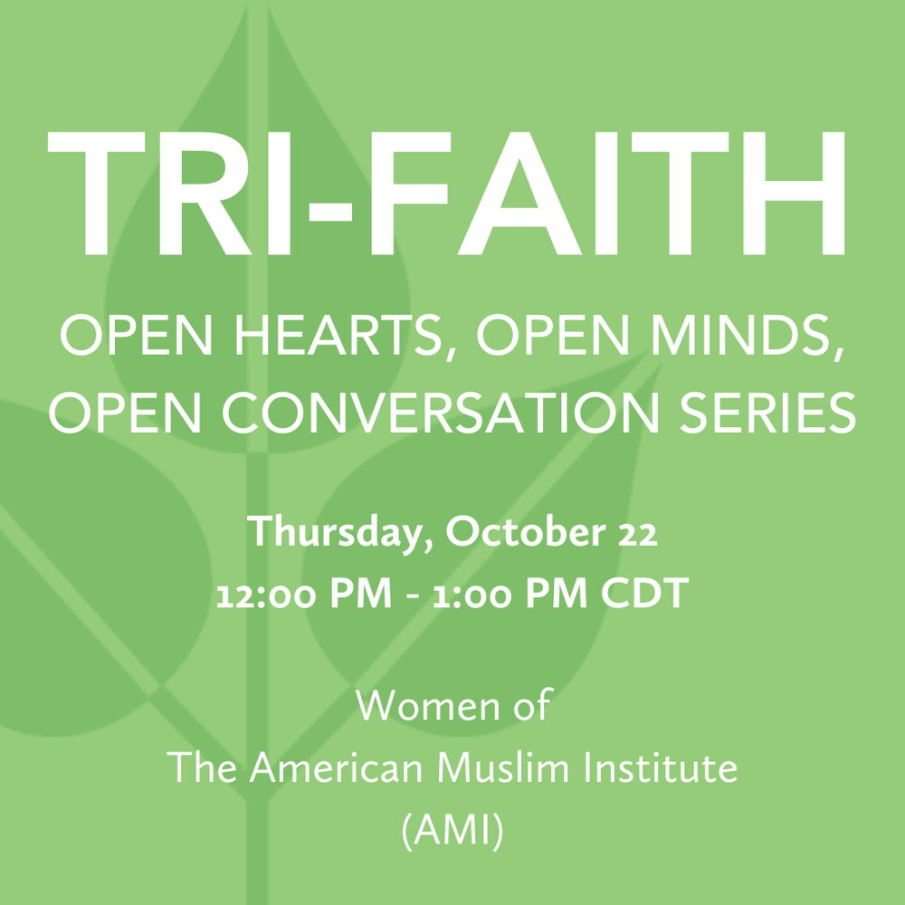 Picture of Join Tri-Faith Executive Director Wendy Goldberg for this Open Conversation with women from The American Muslim Insitute!