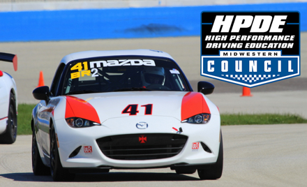 Midwestern Council HPDE and Test at the Mile!