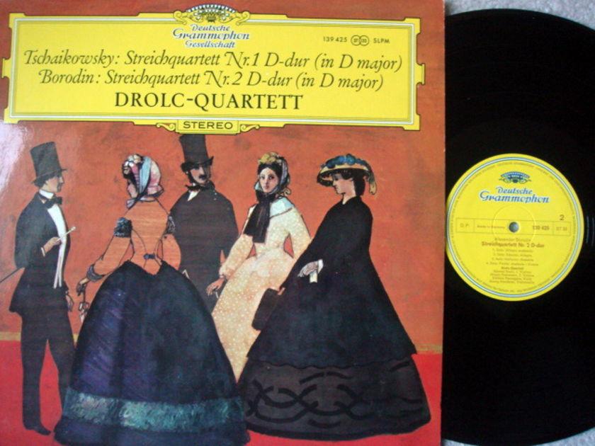 DGG / DROLC QT, - Tchaikovsky-Borodin String Quartets, MINT!