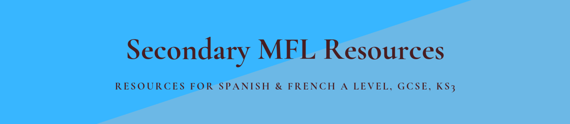 Secondary MFL Resources