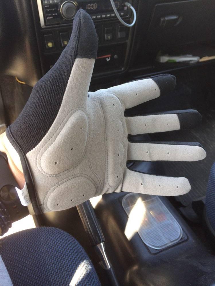 gants trottinette coupe vent legers