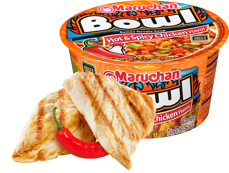 Hot & Spicy Chicken Flavor
