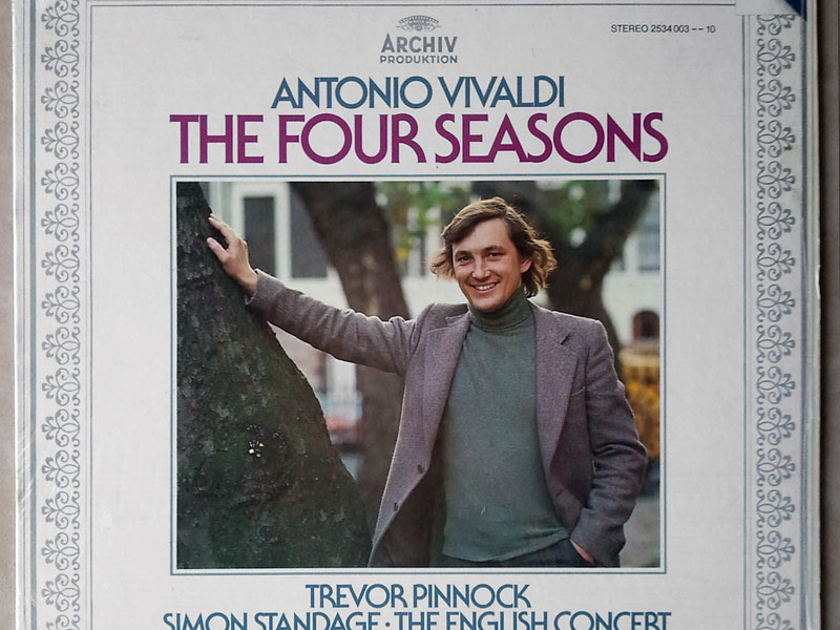 Archiv/Pinnock/Standage/Vivaldi - The Four Seasons / NM