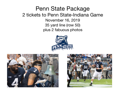 2 tickets to Penn State vs. Indiana
