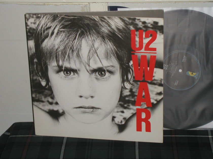 U2  - War LP Gatefold w/black labels