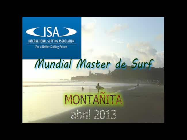 Mundial Máster de Surf Montañita Ecuador 2013-Montañita