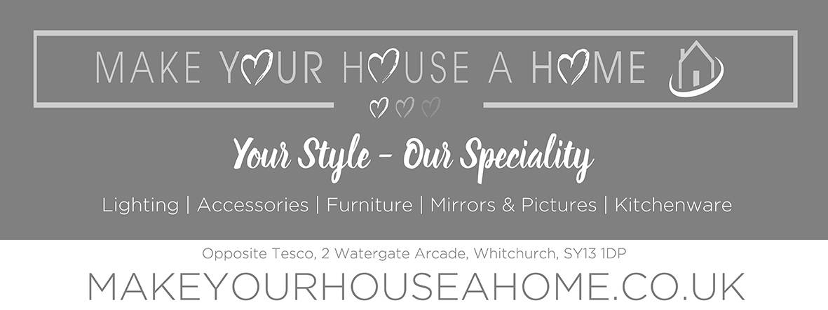 Make your house a home banner poster