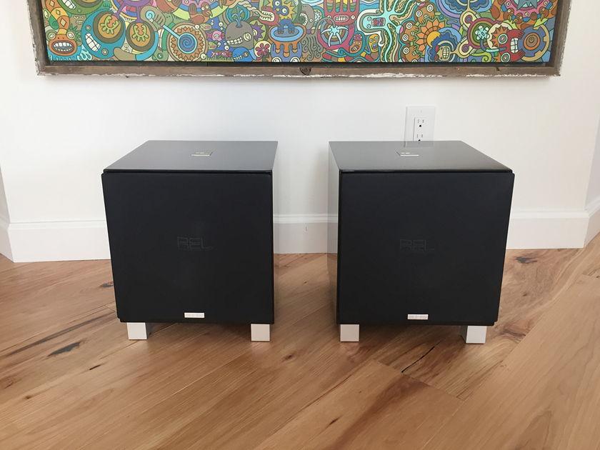 REL Acoustics T7 Pair Excellent Condition