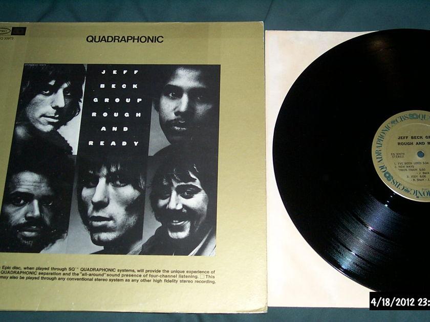 Jeff Beck Group - Rough And Ready SQ Quadraphonic LP NM
