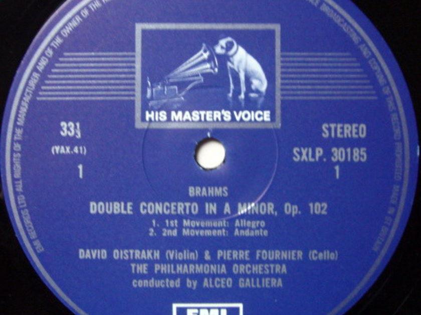EMI HMV STAMP-DOG / OISTRAKH-FOURNIER, - Brahms Double Concerto, NM!