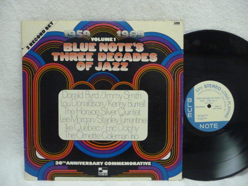 THREE DECADES OF JAZZ  - BLUE NOTE LP