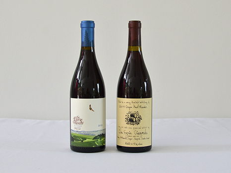 2 Pinots from Eyrie Vineyards