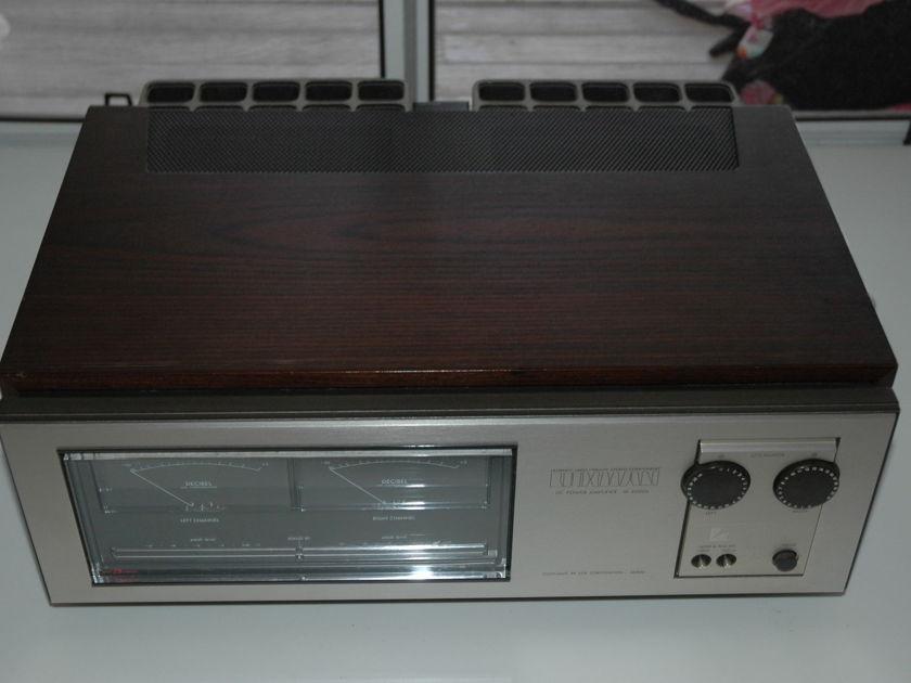 Luxman M4000A Amplifier 180 wpc - 60+ lbs!