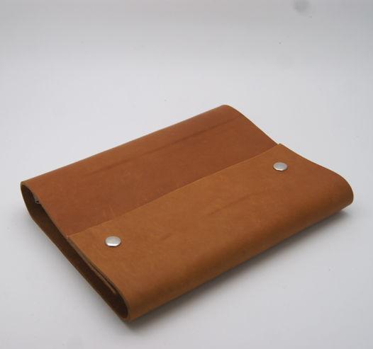 Блокнот А5 с обложкой из натуральной кожи