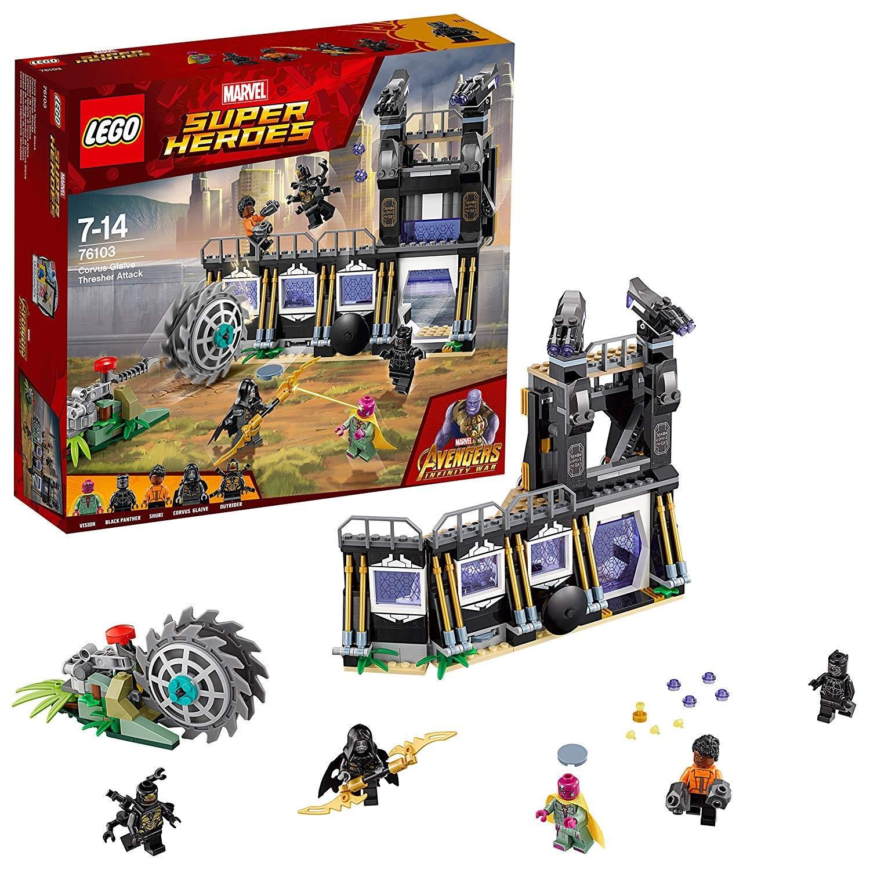 LEGO corvus glaive thresher attack
